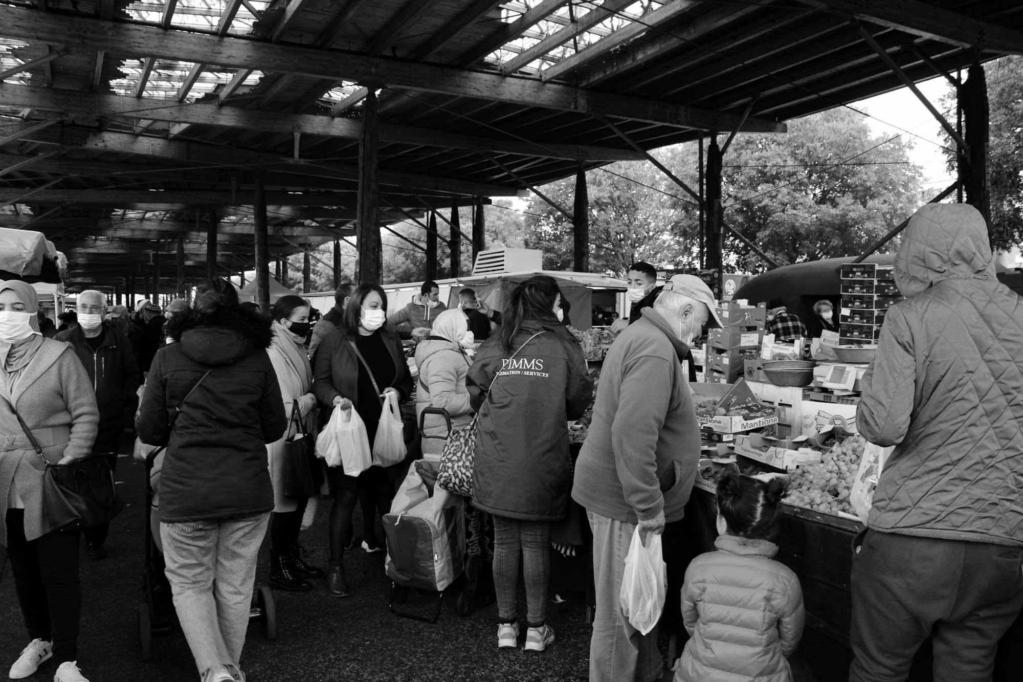 Campagne de sensibilisation sur les marchés de l'agglomération lyonnaise